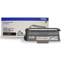Cartucho de Toner Brother TN-3382 Original Preto